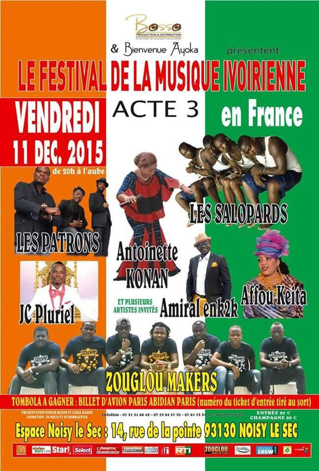 Focus sur le festival de la musique ivoirienne et for Miroir de la musique