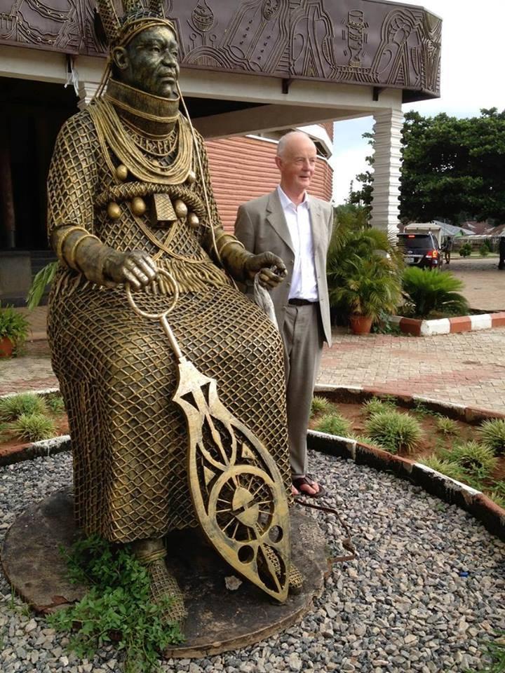 nigerian statues!