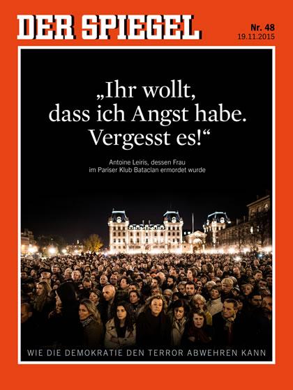 Von dem spiegel zeitung november 13 december 13 for Zeitung spiegel