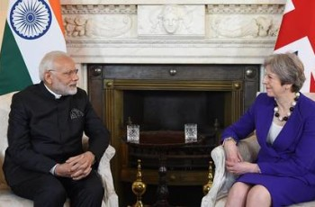 Modi and May meetingjpg