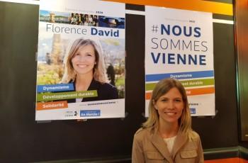 Florence David est candidate pour prendre la tête de la mairie de Vienne