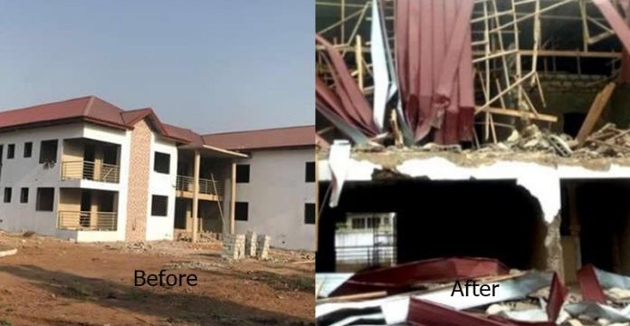 armed-men-break-into-nigerian-high-commission-in-ghana-demolish-apartments-696x392